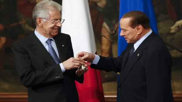 Monti y Berlusconi