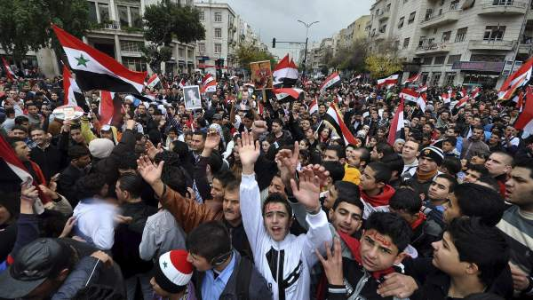 Marcha en Siria