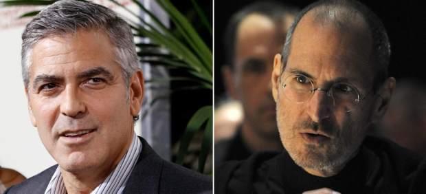 George Clooney y Steve Jobs