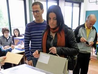 El voto de una afiliada a la ONCE