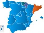 Mapa 'azul' de España