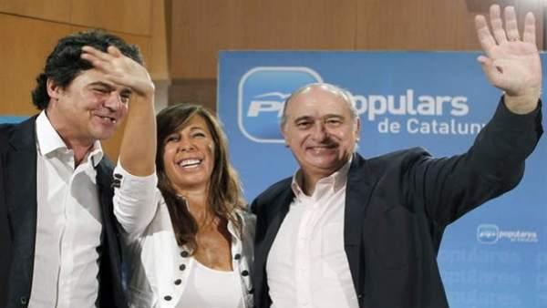 Moragas, Camacho y Fernández Díaz.