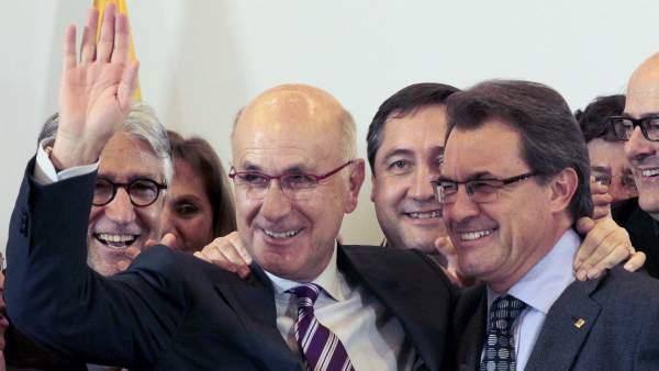 Duran Lleida y Artur Mas.