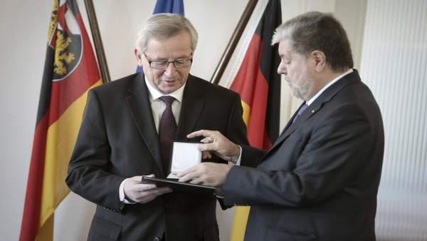 Jean Claude Juncker, presidente del Eurogrupo