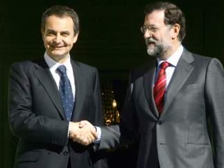Zapatero y Rajoy en 2006