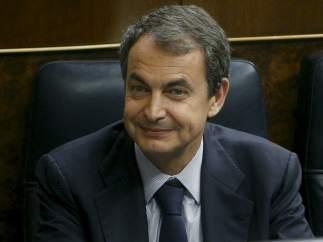 Zapatero debatiendo los presupuestos
