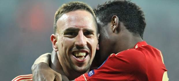 Ribery y Alaba