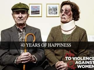 '40 años de felicidad...'