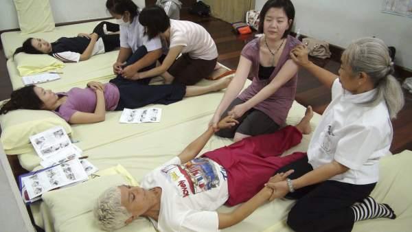 China sexo de masaje