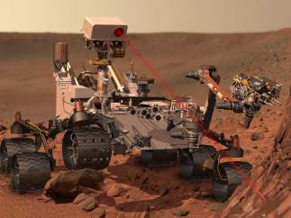 Robot 'Curiosity'