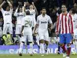 Gol del Real Madrid ante el Atlético