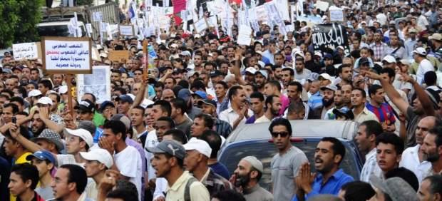 Protestas en Marruecos