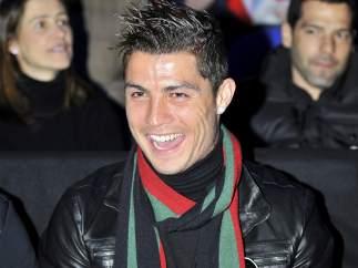 Cristiano Ronaldo, en Londres