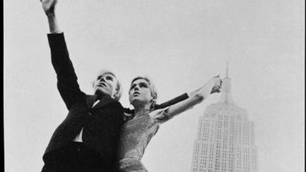 Edie Sedgwick y Andy Warhol