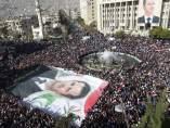 Protestas en Siria contra las sanciones de la Liga Árabe
