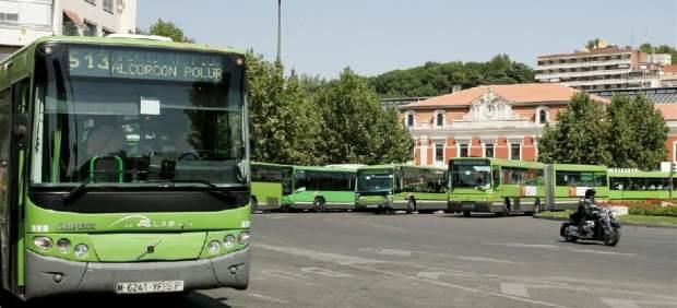 Autobús interurbano de Madrid.