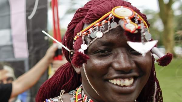 Un joven masai contra el cambio climático