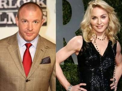 Madonna y Guy Ritchie