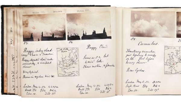 'Cloud Photographs 1884-1888, London'