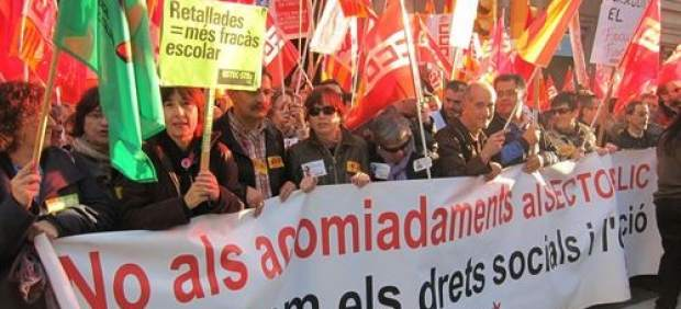 Protesta sindical.