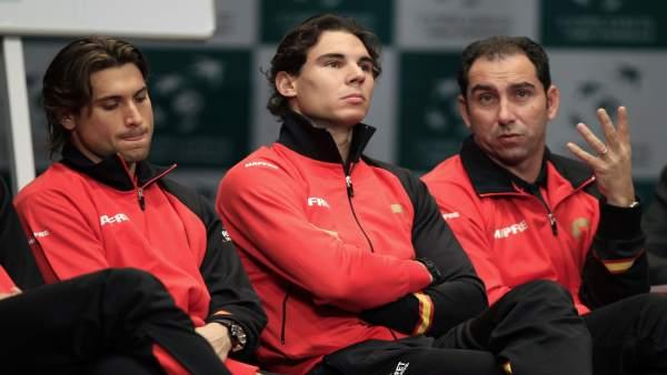 Ferrer, Nadal y Costa