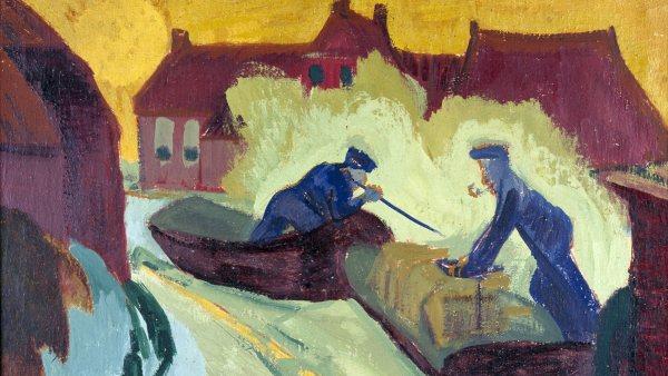 'De ijsbrekers', 1924