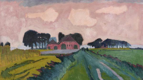 'De rode boerderij', 1924