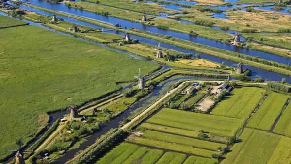 'Kinderdijk, Zuid Holland'