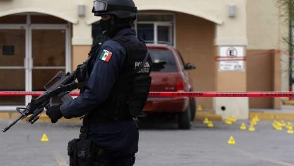 Policía en Ciudad Juárez