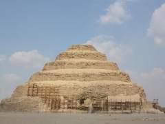 Pir�mide escalonada de Zoser, Egipto