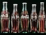Varios modelos de Coca-Cola