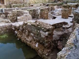 Restos de las Cruzadas en Beirut