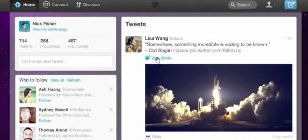 Twitter se renueva con un diseño más personalizado y multimedia