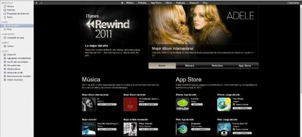Pitbull, Adele, WhatsApp y la película 'Cars 2', entre lo más descargado de iTunes en 2011