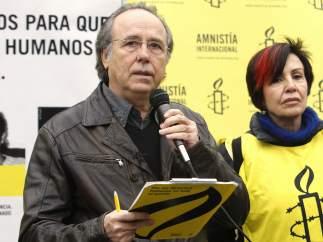 Serrat, en el Día de los Derechos Humanos