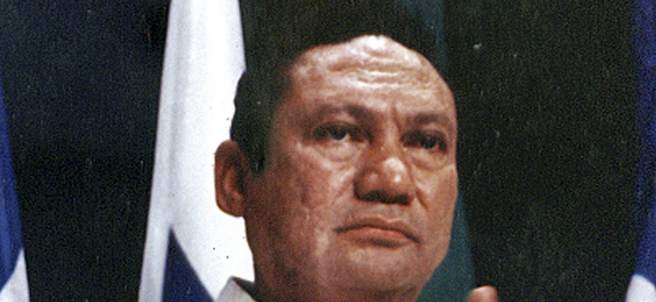 Noriega, exdictador de Panamá