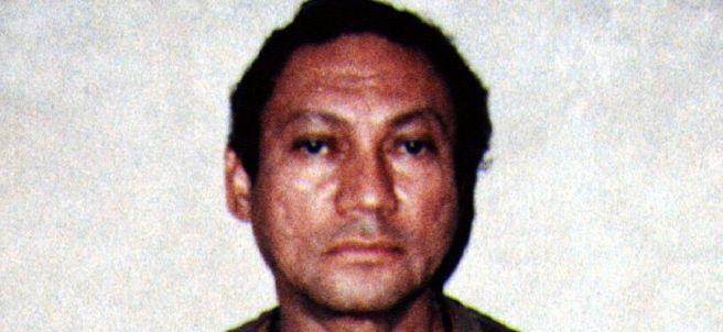El exdictador Manuel Noriega, en 1990
