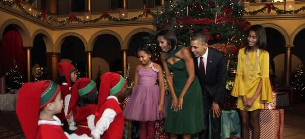 Los Obama prohíben a sus hijas usar Facebook