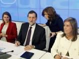 Mariano Rajoy preside la Junta Directiva del PP