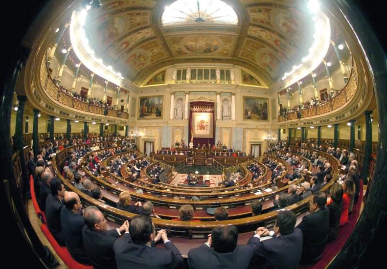 Los parlamentarios volar n siempre en preferente en sus for Foto del parlamento