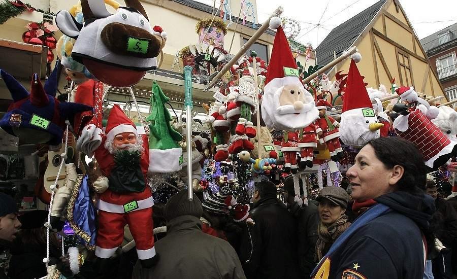 Las otras compras navide as 5 mercadillos que hay que - Mercado de navidad en madrid ...
