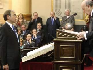 Pío García Escudero, presidente del Senado