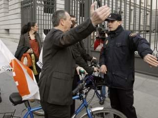 En bicicleta al Congreso