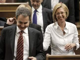Zapatero tomó posesión como parlamentario