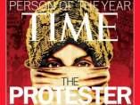 El manifestante, personaje del año 2011