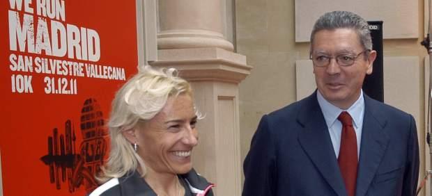 Alberto Ruiz Gallardón y Marta Domínguez