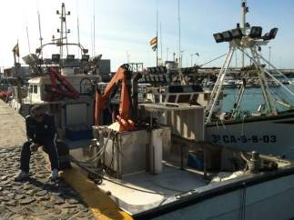 Puerto pesquero de Barbate (C�diz)