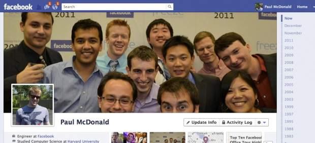 Facebook anima a aprovechar la Navidad para rellenar su nueva 'Biografía'