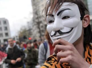 'Indignados' en Londres
