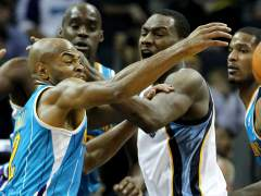 Allen y Jack en el Hornets - Grizzlies